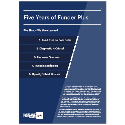 Five Years of Funder Plus