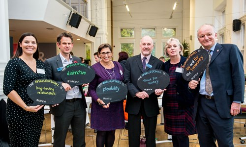 Lloyds Bank Foundation team at report launch event